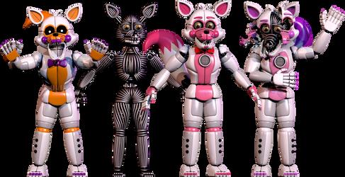 Funtime Foxy V1 (Release) by SupSorgi
