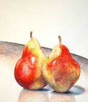 Pear Study 2 by ryookibunny