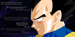 Dragon Ball Z ~ Vegeta's Struggle by OnlyIfItsFluffy
