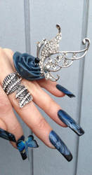 When Jewellery meets Nail Art! by sams-originails