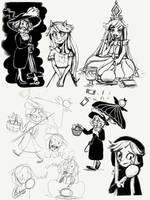 SVTFOE doodles during school by jumpingllama2000