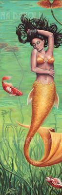 Koi Mermaid by deanna23