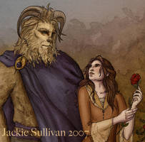 Among The Roses - Detail by jackieocean