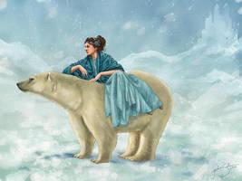 Arctic Queen by jackieocean
