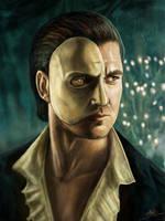 Portrait of a Phantom by jackieocean