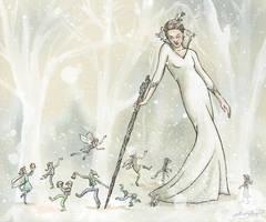 Snow Dancing by jackieocean