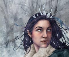 Snow Princess by jackieocean