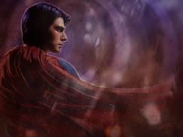 Superman by jackieocean