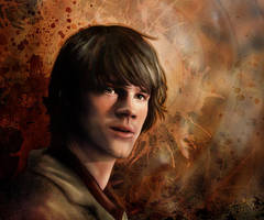Sam Winchester by jackieocean