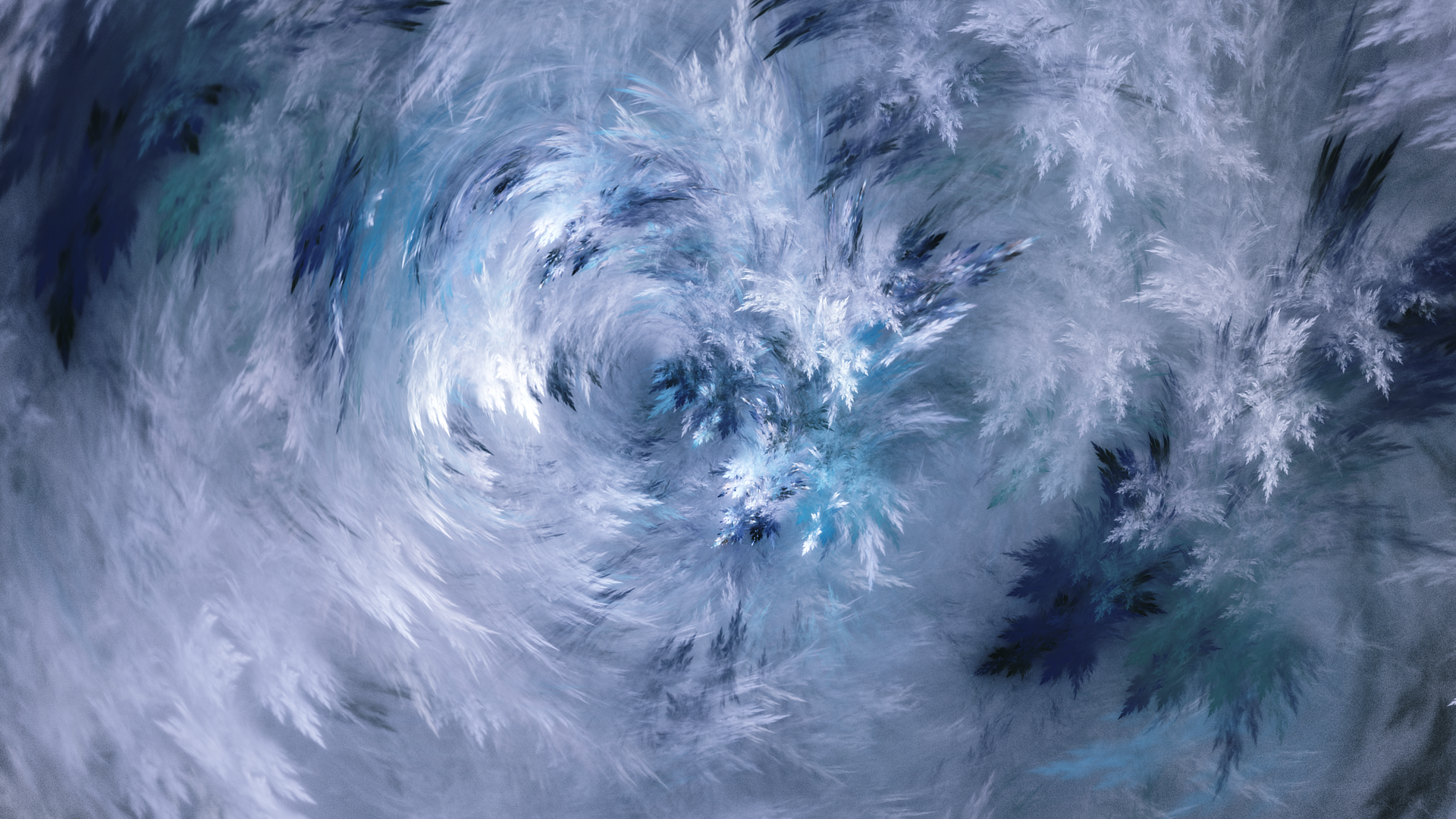 Ice Flowers by PJKfractals