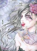 Black Lady by larvazhenzi