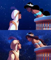 Screenshot redraw: Aladdin by kitt2506