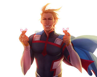 All Might by kitt2506