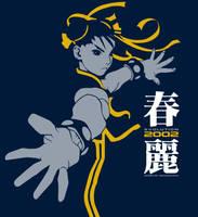 Chun-Li Vectorized by dragonkahn