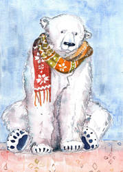 Sitting bear by sunnyfiny