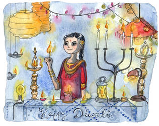 Happy Diwali by sunnyfiny