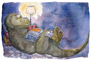 Reading night by sunnyfiny