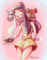 Melanie Martinez - Milk and Cookies by AkiTheBonez