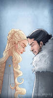Game of Thrones - Jonaerys by AkiTheBonez