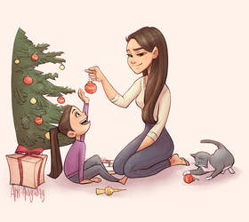 Merry Christmas by AkiTheBonez