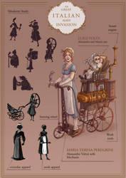 Steampunk Portfolio 1/6 by AkiTheBonez