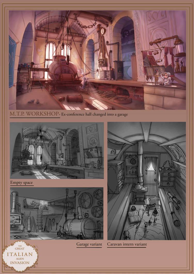 Steampunk Portfolio 6/6 by AkiTheBonez