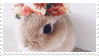 -Stamp: Bunny Flower Crown by galaxystamps