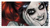 -Stamp: Harley Quinn (4) by galaxystamps