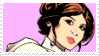 -Stamp: Leia Organa by galaxystamps