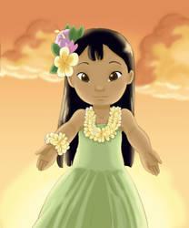 Lilo Aloha E by Kahimi-chan