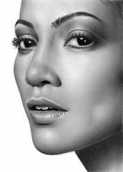 Jennifer Lopez by Rob-Mcilwain