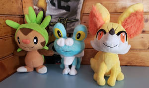 Gen 6 Starter Collection Complete by Coca-ColaFan1991