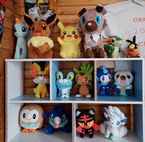All my Plushies by Coca-ColaFan1991