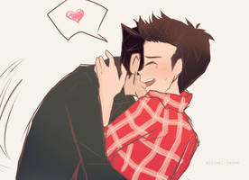 Teen wolf: Playful boyfriend- by arrival-layne