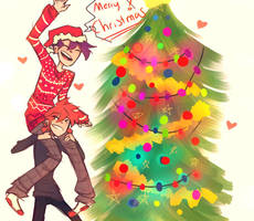 Merry Christmas! by arrival-layne