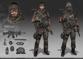 Cougar Assault team by weihuaix