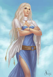Zeke's angel by mylsbunagan