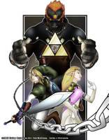 Legend of Zelda by Konstance