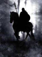 Viking horseman by thecasperart