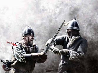 Vikings misunderstanding by thecasperart
