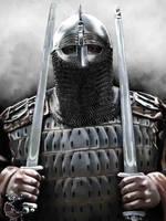 Viking guardian by thecasperart