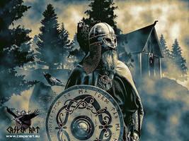 Viking by thecasperart