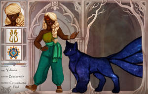 SH - Yuliana and the Thundercat by Pandamunk