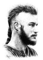 Ragnar Lothbrok by marchesme