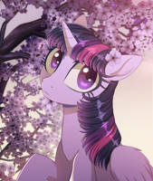 Twilight Blossoms by VeraWitch