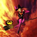 Halloween Phoenix 2018 by bushsbunny
