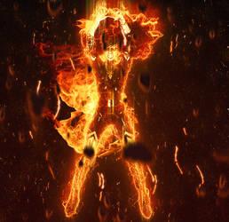 Dark Phoenix Fire by bushsbunny