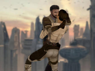 Coruscant Kiss by oliatoth