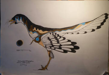 1to1 scale Archaeopteryx lithographica  by TheDubstepAddict