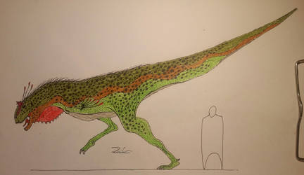 Carnotaurus sastrei  by TheDubstepAddict